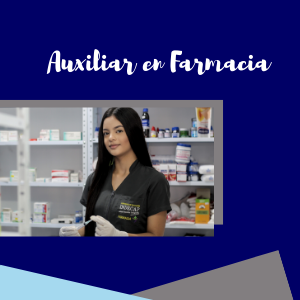 Auxiliar en Farmacia INDECAP